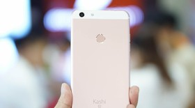 Mở hộp Kashi Inni 6s - y hệt iPhone 6s Plus!