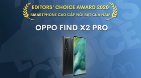 Editors' Choice Awards 2020: Smartphone cao cấp nổi bật năm 2020 - OPPO Find X2 Pro