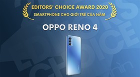 Editors' Choice Awards 2020: Smartphone cho giới trẻ năm 2020 - OPPO Reno4 Series