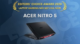 Editors' Choice Awards 2020: Laptop gaming nổi bật năm 2020 - Acer Nitro 5