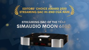 Editors' Choice Awards 2020 - Simaudio Moon 680D –  Streaming DAC hi-end của năm