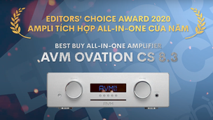 Editors' Choice Award 2020 - AVM Ovation CS8.3 – Ampli tích hợp all-in-one của năm