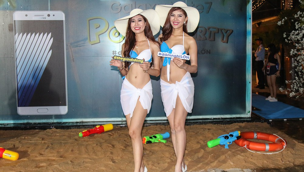 Galaxy Note 7 Pool Party