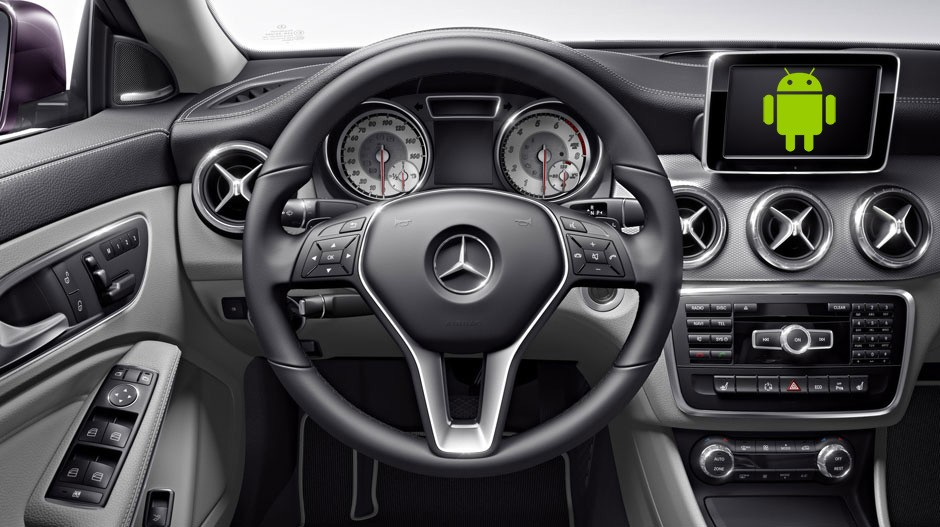 mercedes-benz android auto
